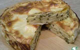 Пироги из лаваша с зеленью