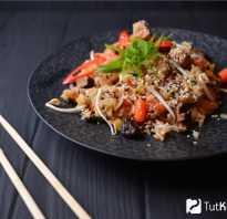 Рис поджарить на сковороде