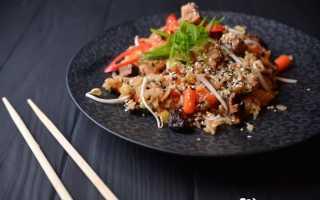 Рис жареный на сковороде пошаговый рецепт