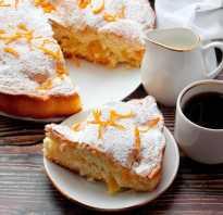 Рецепт пирога с апельсинами с фото пошагово