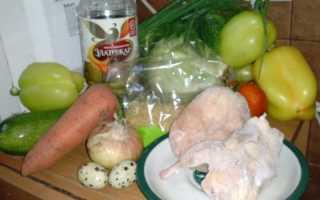 Перец фаршированный булгуром и овощами