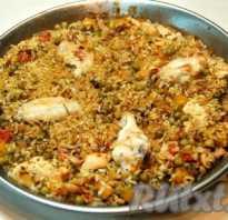 Рецепт паэльи с курицей и овощами фото
