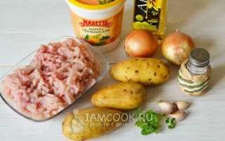 Рецепты с куриным фаршем и картошкой