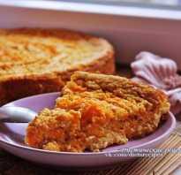 Пирог с тыквой низкокалорийный рецепты