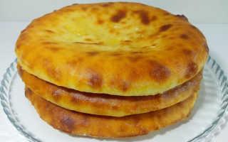 Приготовить осетинский пирог с сыром и картошкой