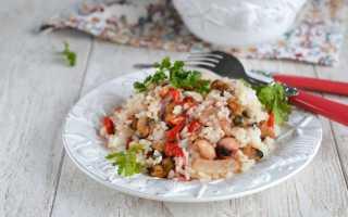 Рис с морепродуктами калорийность