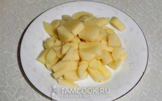 Рецепт супа пюре из картофеля с курицей