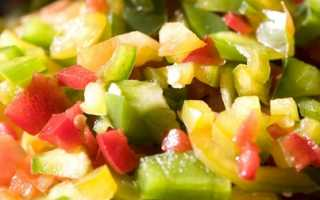 Приготовить овощную смесь в мультиварке