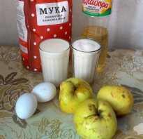 Рецепт пирога с яблоками на кислом молоке