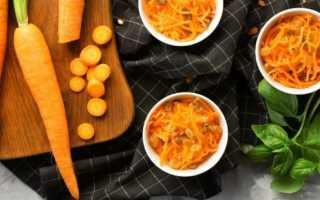 Рецепт салата с картофелем и морковью