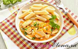 Подлива из курицы и болгарского перца