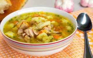 Рецепт клецок для куриного супа