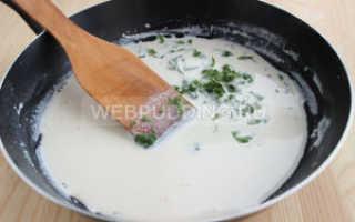 Рецепт гречки с подливкой из курицы