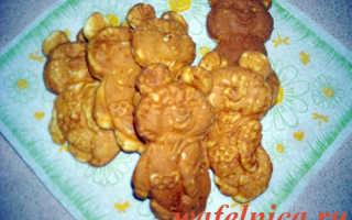 Рецепт печенья мишки в форме на газу