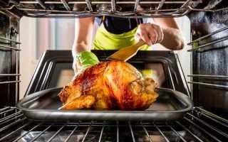 При какой температуре нужно жарить курицу