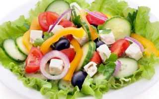 Рецепт салата греческий видео