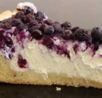 Рецепт творожного пирога с ягодами