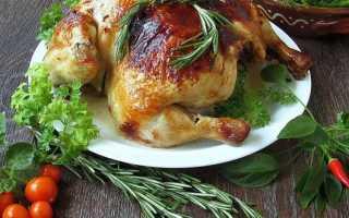 Рецепт курица с розмарином