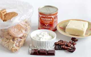 Рецепт муравейника из готового печенья