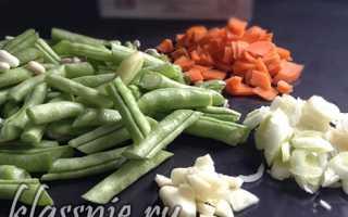 Рис с зеленой фасолью рецепт