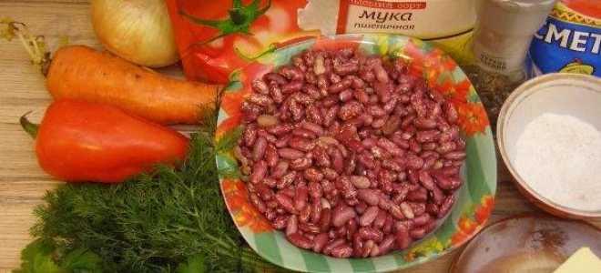 Рагу из овощей с кабачками и фасолью