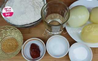 Пирог с картошкой на бездрожжевом тесте