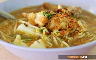Рецепт куриного супа в мультиварке редмонд