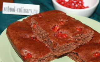 Пирог с рябиной красной рецепт