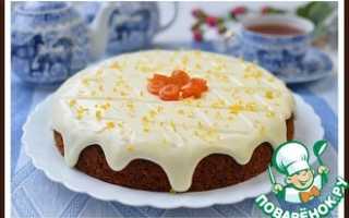 Пирог с морковью и изюмом