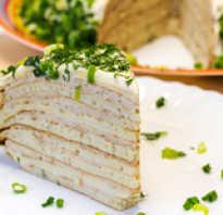 Рецепты вкусных несладких пирогов с фото