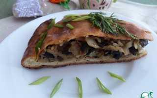 Пирог с капустой и рисом рецепт