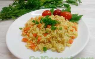 Рассыпчатый рис как готовить на сковороде