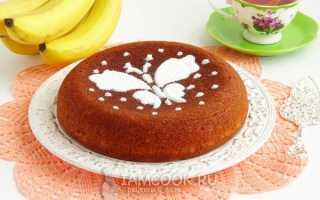 Рецепт бананового кекса в мультиварке