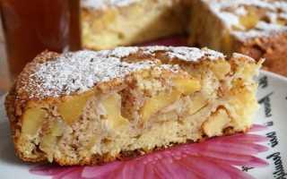 Рецепт воздушного яблочного пирога