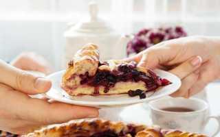 Рецепт пирога с замороженными фруктами