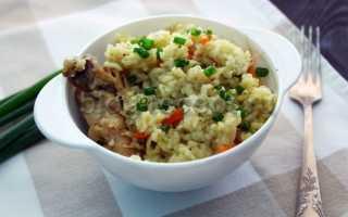 Рецепт вкусного плова с курицей в кастрюле