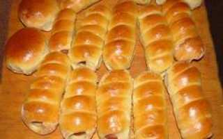Пироги с сосиской в духовке