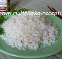 Рис на пару в мультиварке редмонд