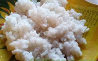 Рис с корейской морковью