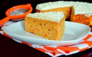 Пирог с яблоком и морковью