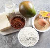 Пирог с консервированным манго рецепт
