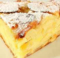 Рецепт пышного пирога с яблоками