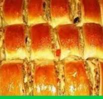 Пирог из печени и капусты
