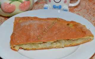 Пирог с щукой и капустой рецепт