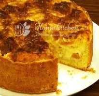 Рецепт венского пирога с яблоками
