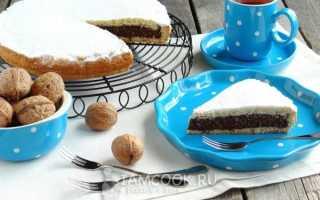 Песочный пирог с шоколадом