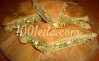 Пироги пресные с капустой и яйцом