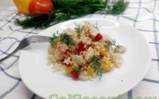 Рис курица соевый соус