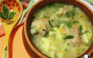 Рецепт куриного супа с клецками видео
