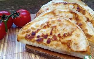 Рецепт кесадии с курицей и с сыром